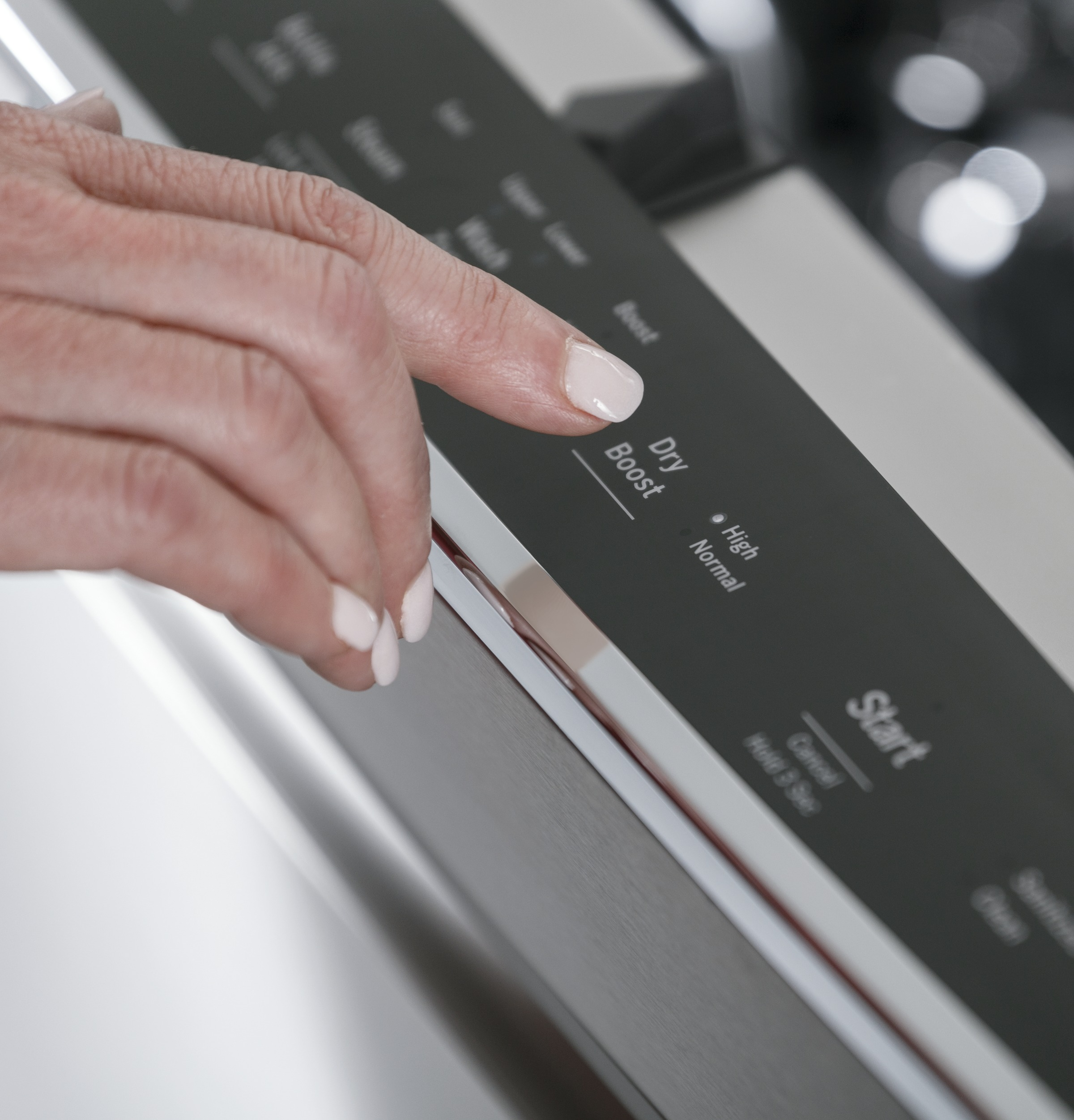 Model: PDT715SMNES   GE Profile GE Profile™ Stainless Steel Interior Dishwasher with Hidden Controls