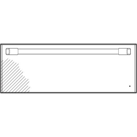 "Model: CTW900P3ND1 | Cafe Café™ 30"" Warming Drawer"