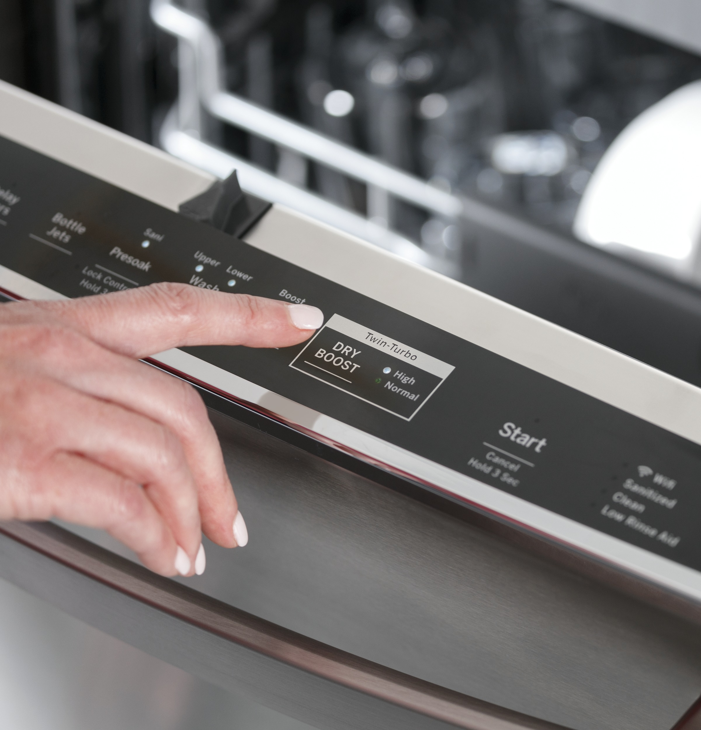 Model: PDT785SYNFS | GE Profile GE Profile™ Stainless Steel Interior Dishwasher with Hidden Controls