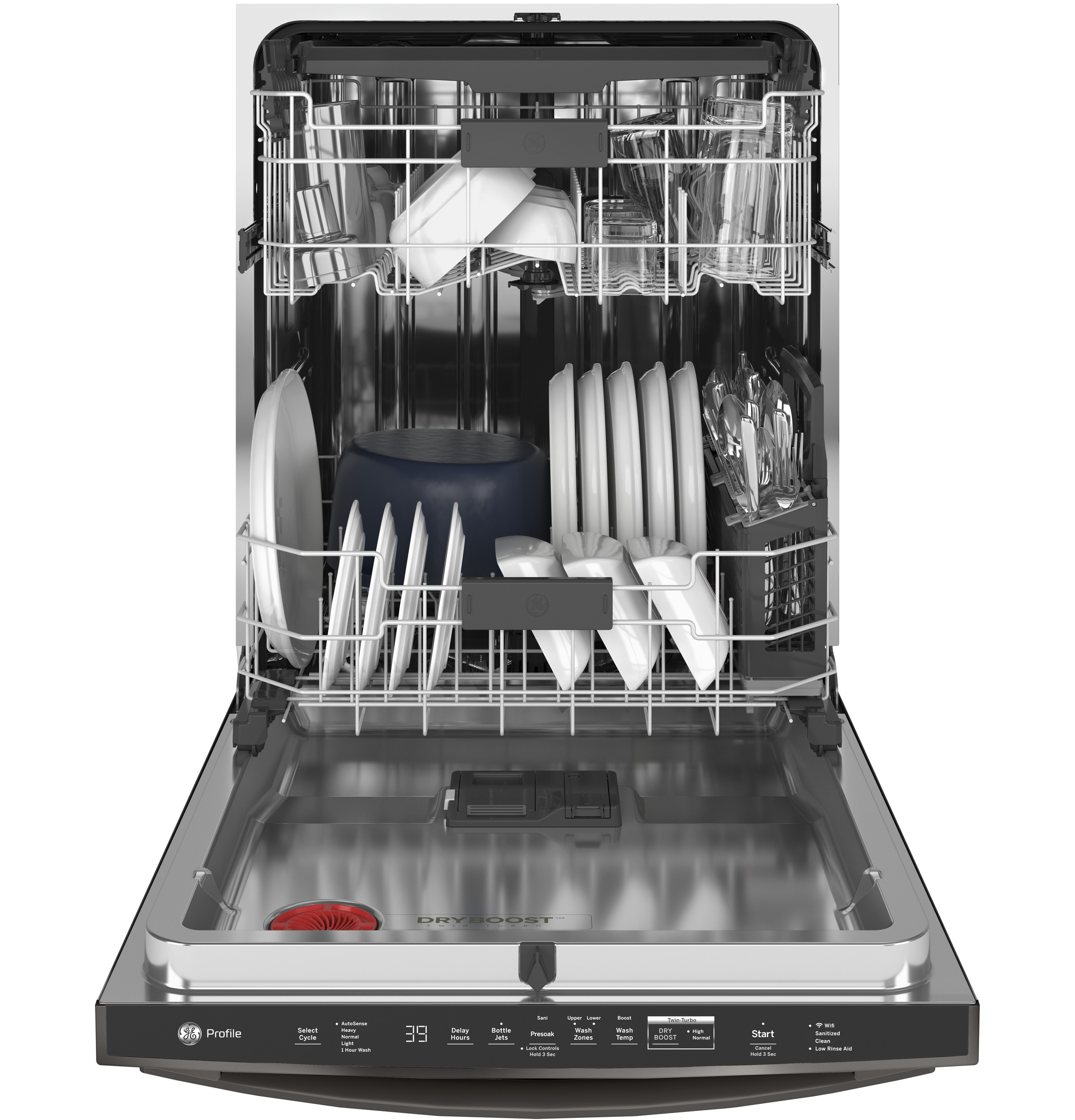 Model: PDT785SBNTS | GE Profile GE Profile™ Stainless Steel Interior Dishwasher with Hidden Controls