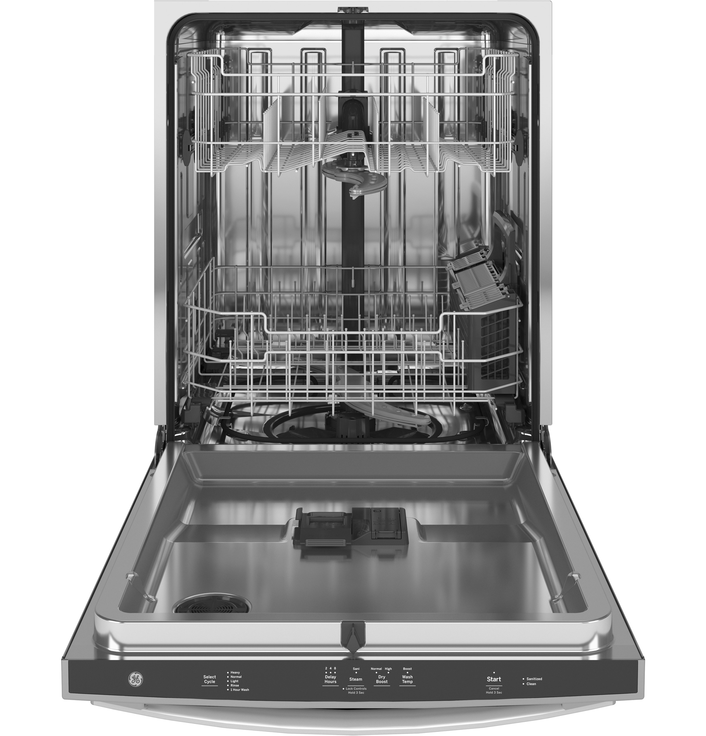 Model: GDT565SSNSS | GE GE® Stainless Steel Interior Dishwasher with Hidden Controls