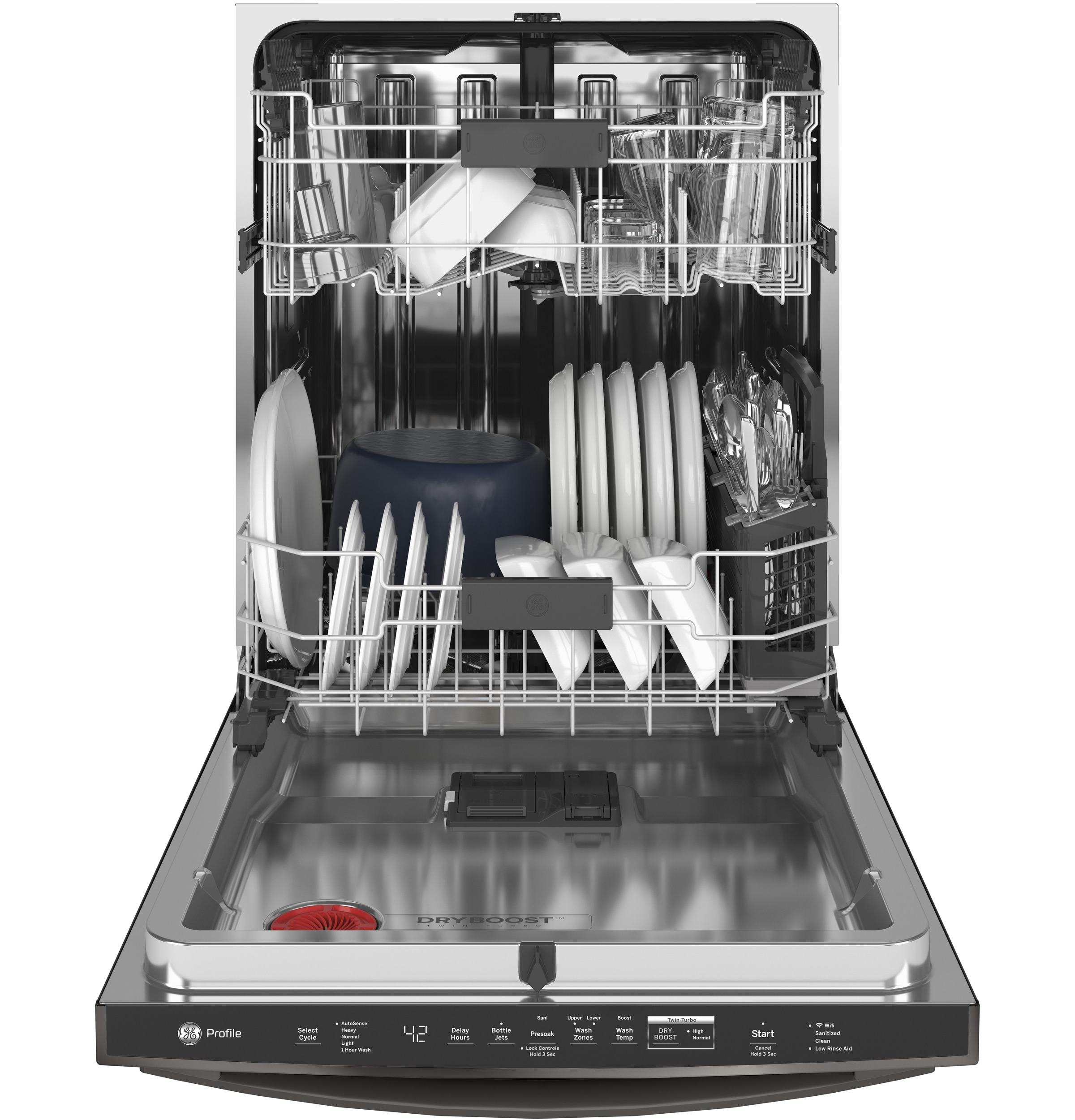 Model: PDT775SBNTS | GE Profile GE Profile™ Stainless Steel Interior Dishwasher with Hidden Controls