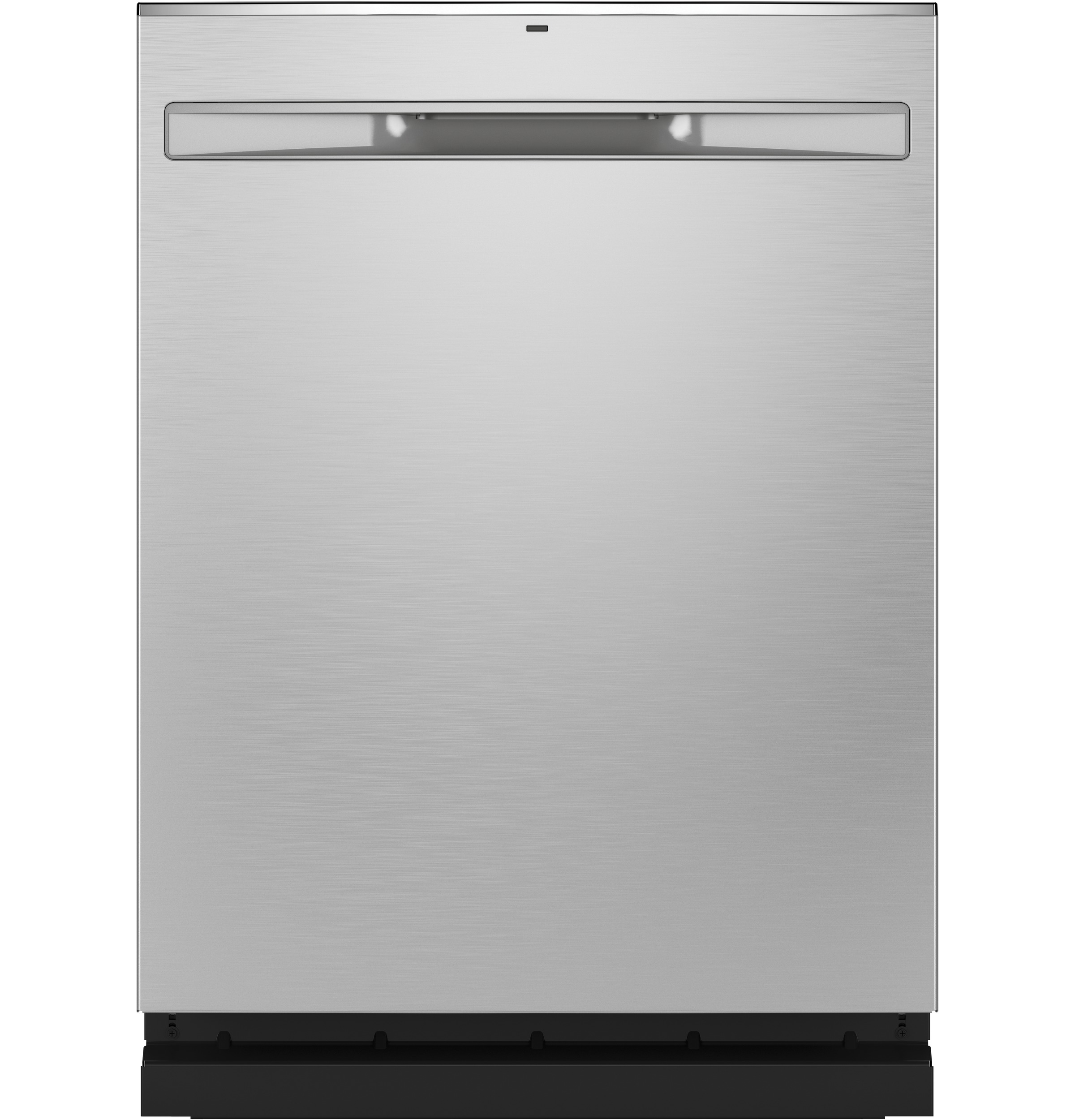 GE GE® Stainless Steel Interior Fingerprint Resistant Dishwasher with Hidden Controls