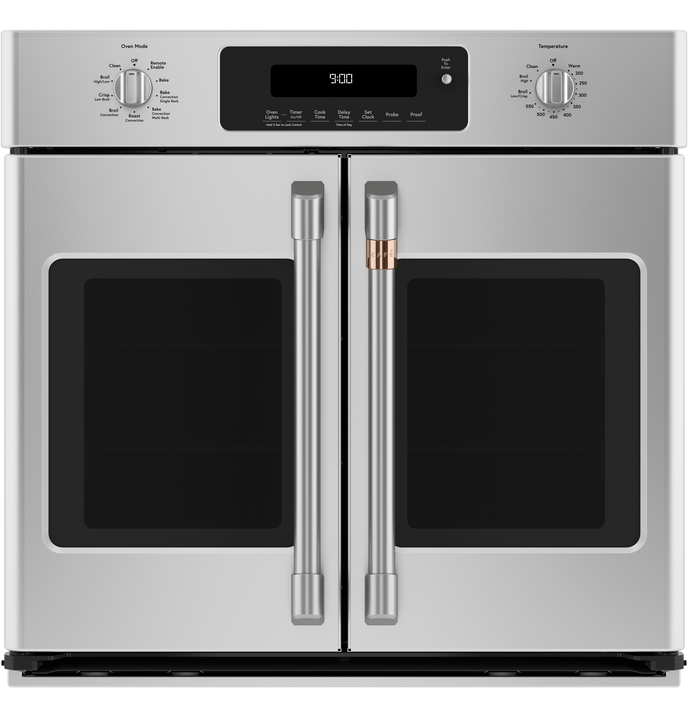 "Cafe Café™ 30"" Smart French-Door Single Wall Oven with Convection"