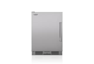 "Model: UC-24RO/PH-LH | Sub-Zero 24"" Outdoor Undercounter Refrigerator - Stainless Door"