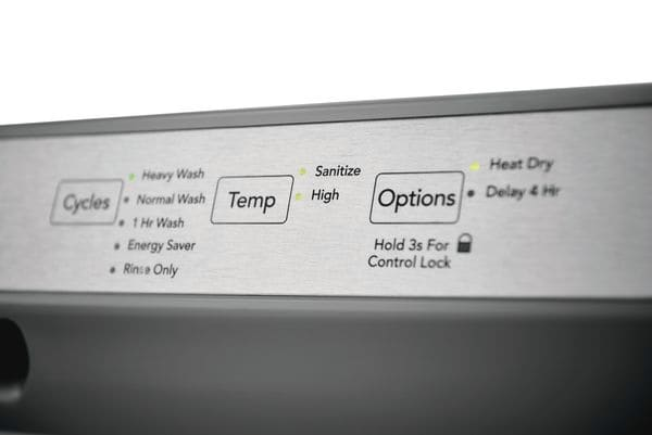 "Model: FFCD2418UW   Frigidaire 24"" Built-In Dishwasher"