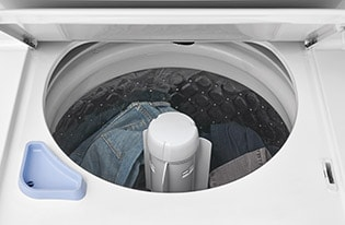 Model: FFLG3900UW | Frigidaire Gas Washer/Dryer Laundry Center - 3.9 Cu. Ft Washer and 5.5 Cu. Ft. Dryer