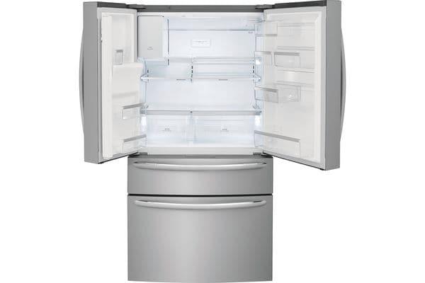 Model: FG4H2272UF | Frigidaire 21.8 Cu. Ft. Counter-Depth 4-Door French Door Refrigerator