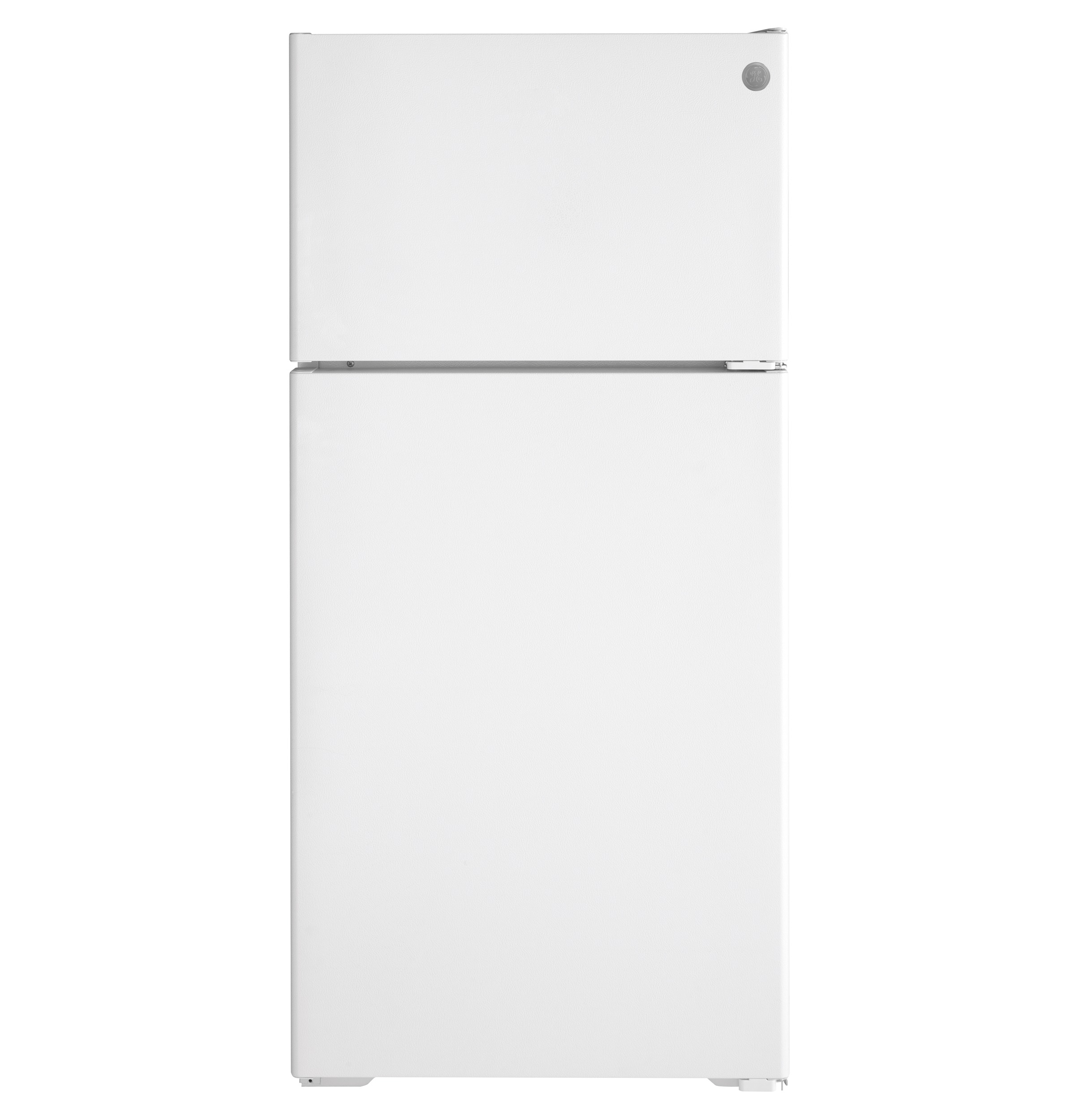GE GE® ENERGY STAR® 16.6 Cu. Ft. Recessed Handle Top-Freezer Refrigerator