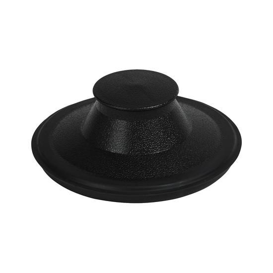 Model: 4211300 | Unbranded Sink and Disposer Stopper, Black