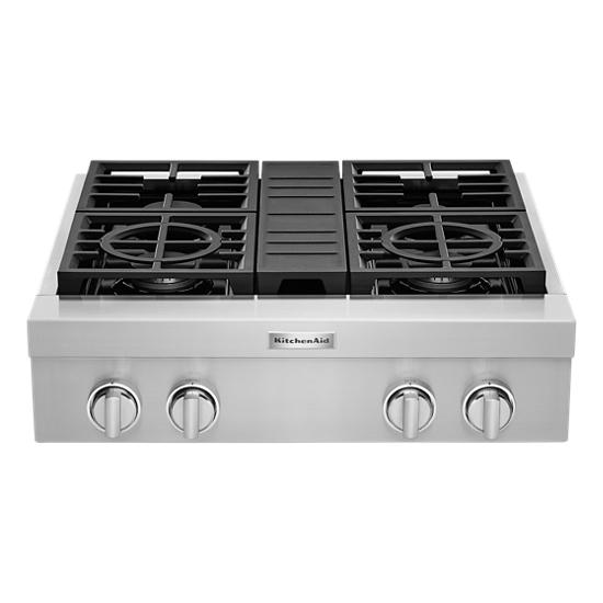 KitchenAid KitchenAid® 30'' 4-Burner Commercial-Style Gas Rangetop