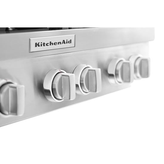 KitchenAid KitchenAid® 36'' 6-Burner Commercial-Style Gas Rangetop
