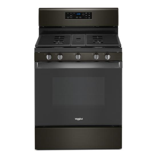 Whirlpool 5.0 cu. ft. Whirlpool® gas range with center oval burner