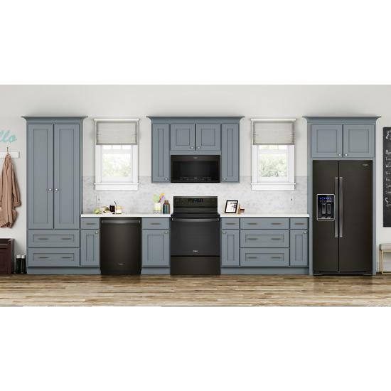 Model: WFE505W0JV | Whirlpool 5.3 cu. ft. Whirlpool® electric range with Frozen Bake™ technology .