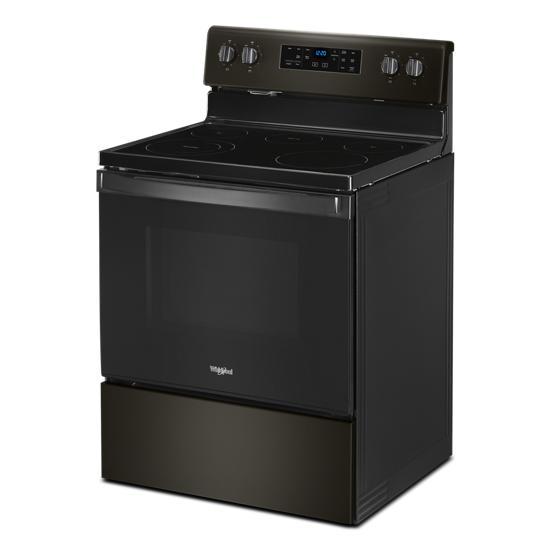 Model: WFE525S0JV   Whirlpool 5.3 cu. ft. Whirlpool® electric range with Frozen Bake™ technology