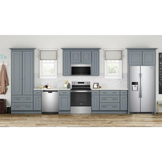 Model: WFE525S0JZ | Whirlpool 5.3 cu. ft. Whirlpool® electric range with Frozen Bake™ technology