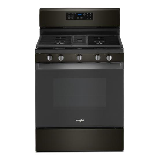 Whirlpool 5.0 cu. ft. Whirlpool® gas convection oven with fan convection cooking