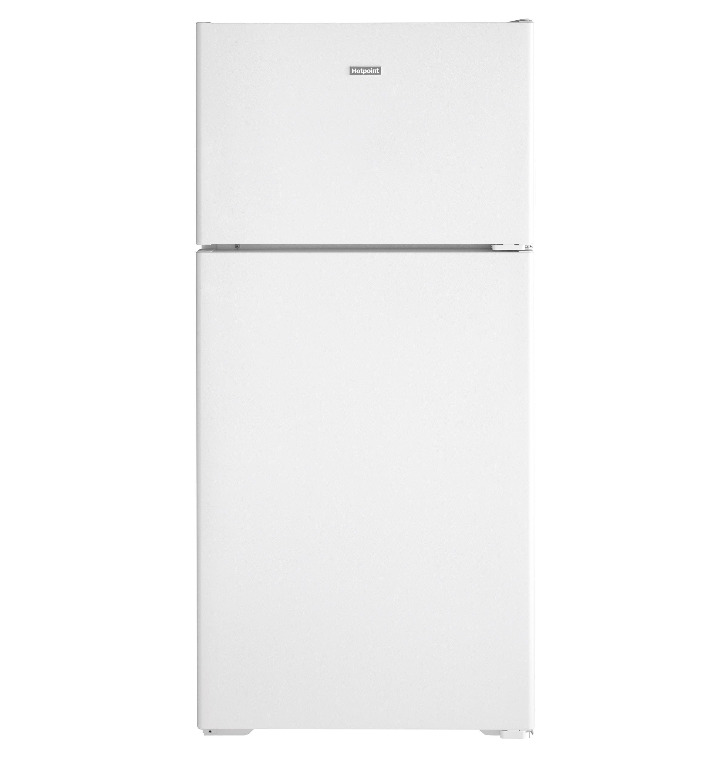 Hotpoint Hotpoint® ENERGY STAR® 15.6 Cu. Ft. Recessed Handle Top-Freezer Refrigerator