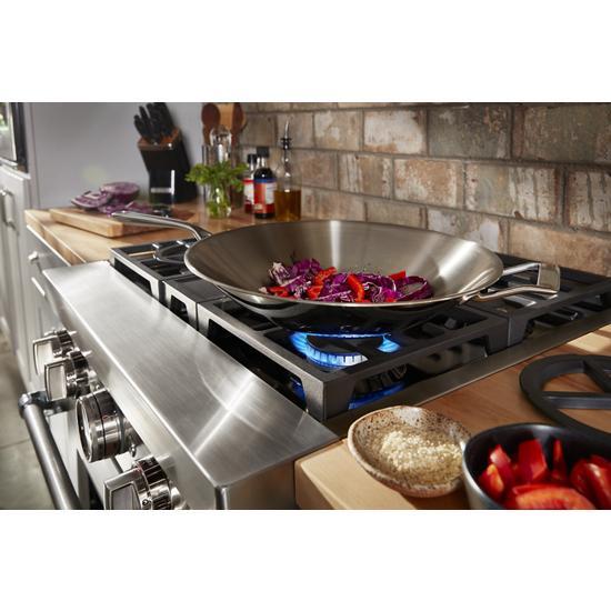 KitchenAid KitchenAid® 30'' Smart Commercial-Style Dual Fuel Range with 4 Burners
