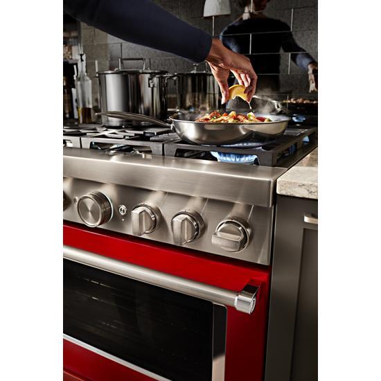 KitchenAid - KFDC506JPA - KitchenAid® 36\'\' Smart Commercial ...