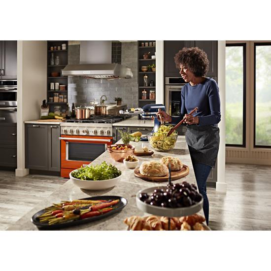 KitchenAid - KFDC506JSC - KitchenAid® 36\'\' Smart Commercial ...