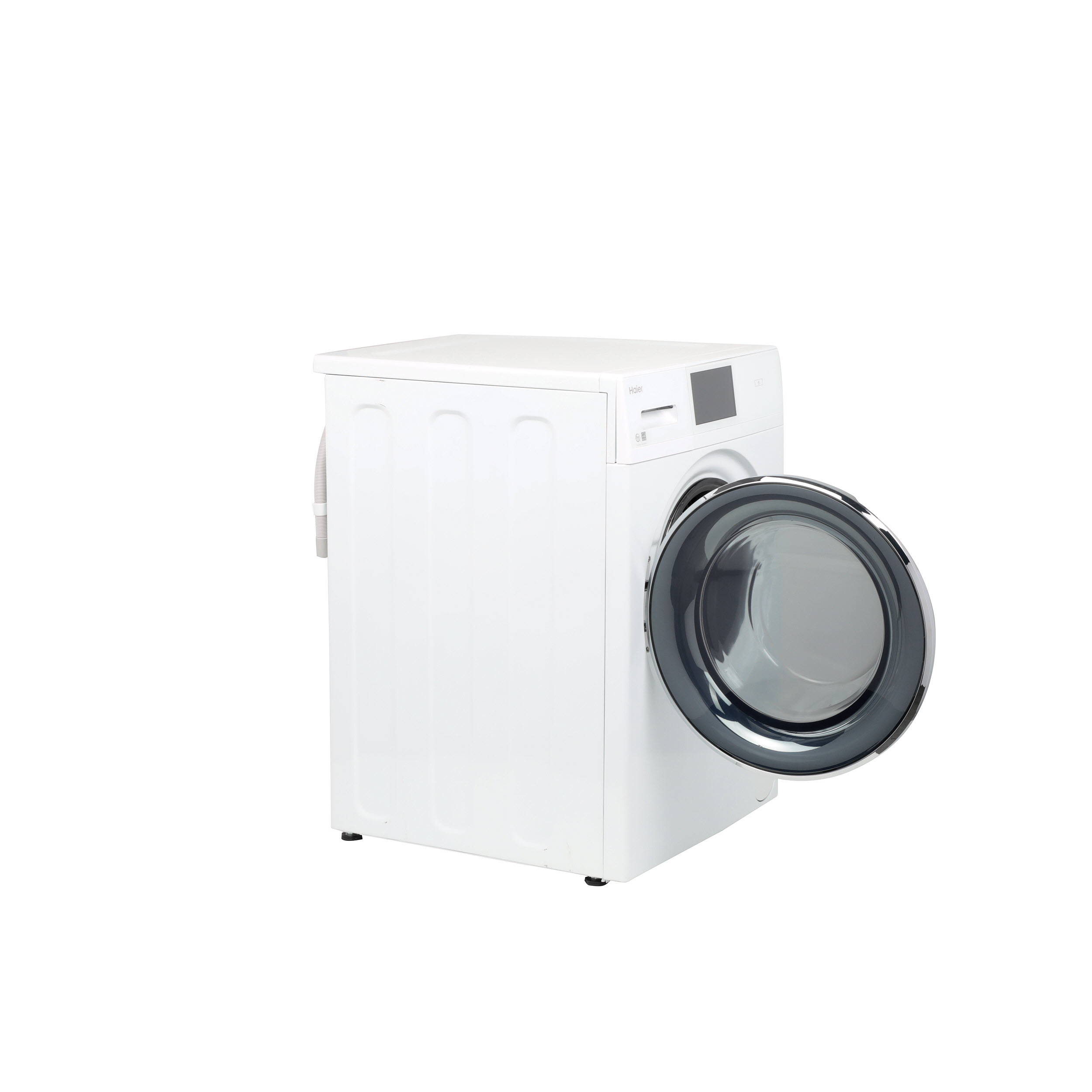 Model: QFW150SSNWW | Haier 2.4 Cu. Ft. Smart Frontload Washer