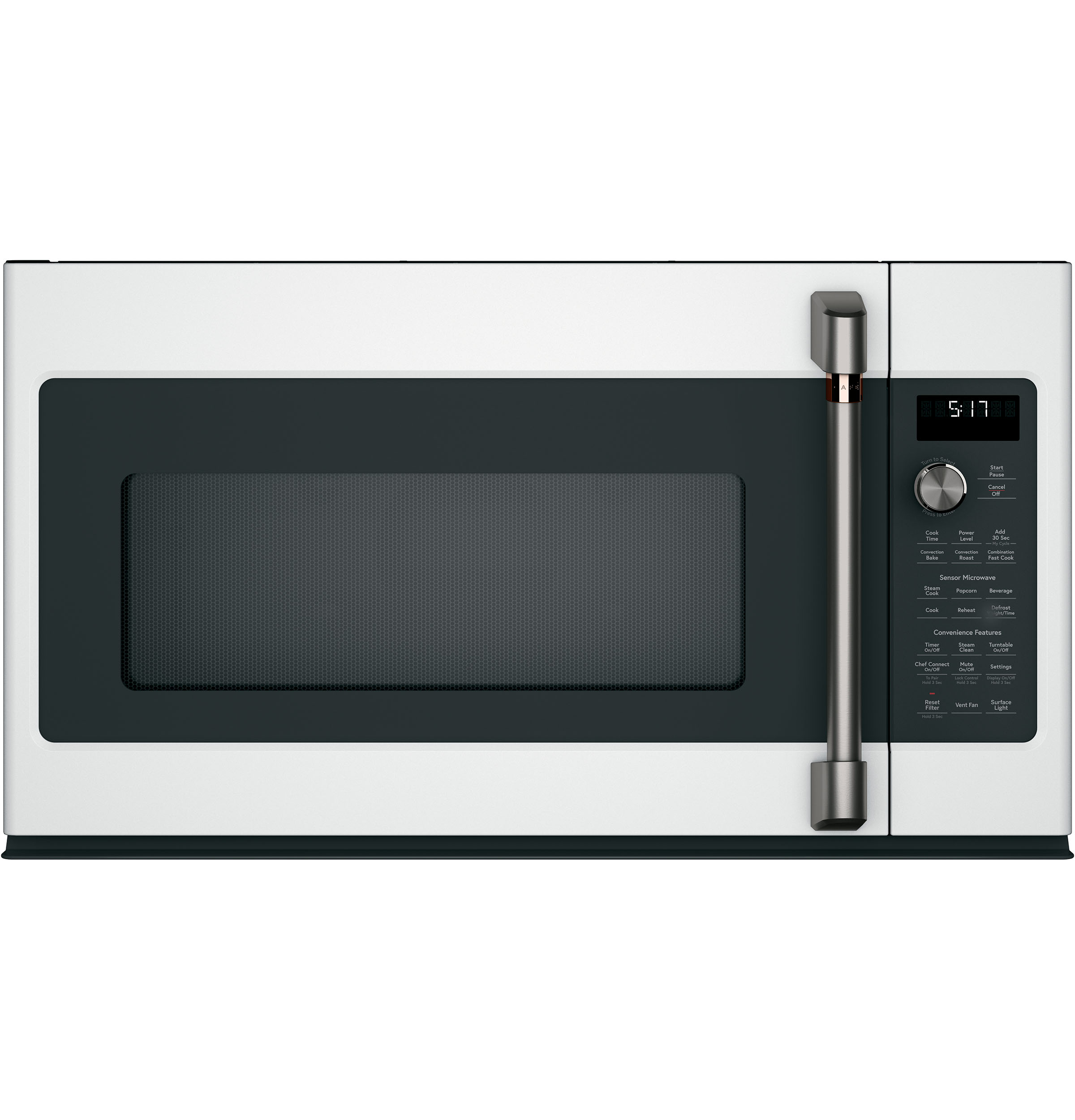 Model: CVM521P2MS1 | Cafe Café™ 2.1 Cu. Ft. Over-the-Range Microwave Oven