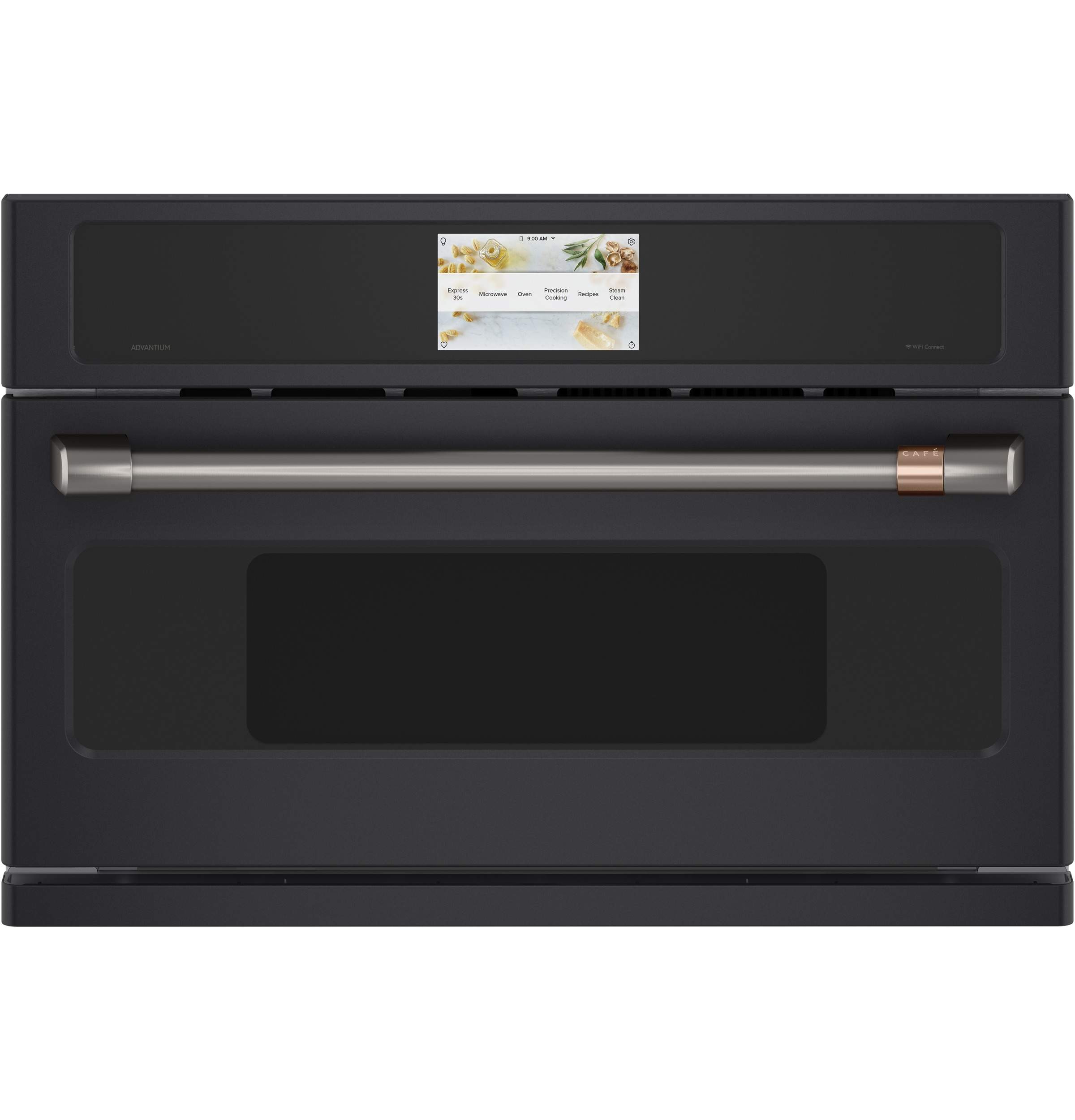 "Cafe Café™ 30"" Smart Five in One Wall Oven with 240V Advantium® Technology"