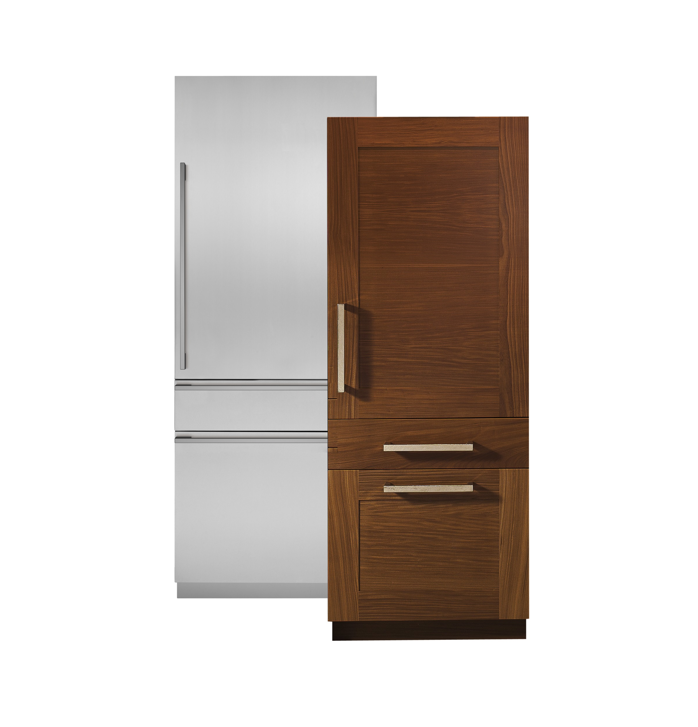 "Model: ZIC30GNHII | Monogram Monogram 30"" Integrated Customizable Refrigerator (for Single or Dual Installation)"