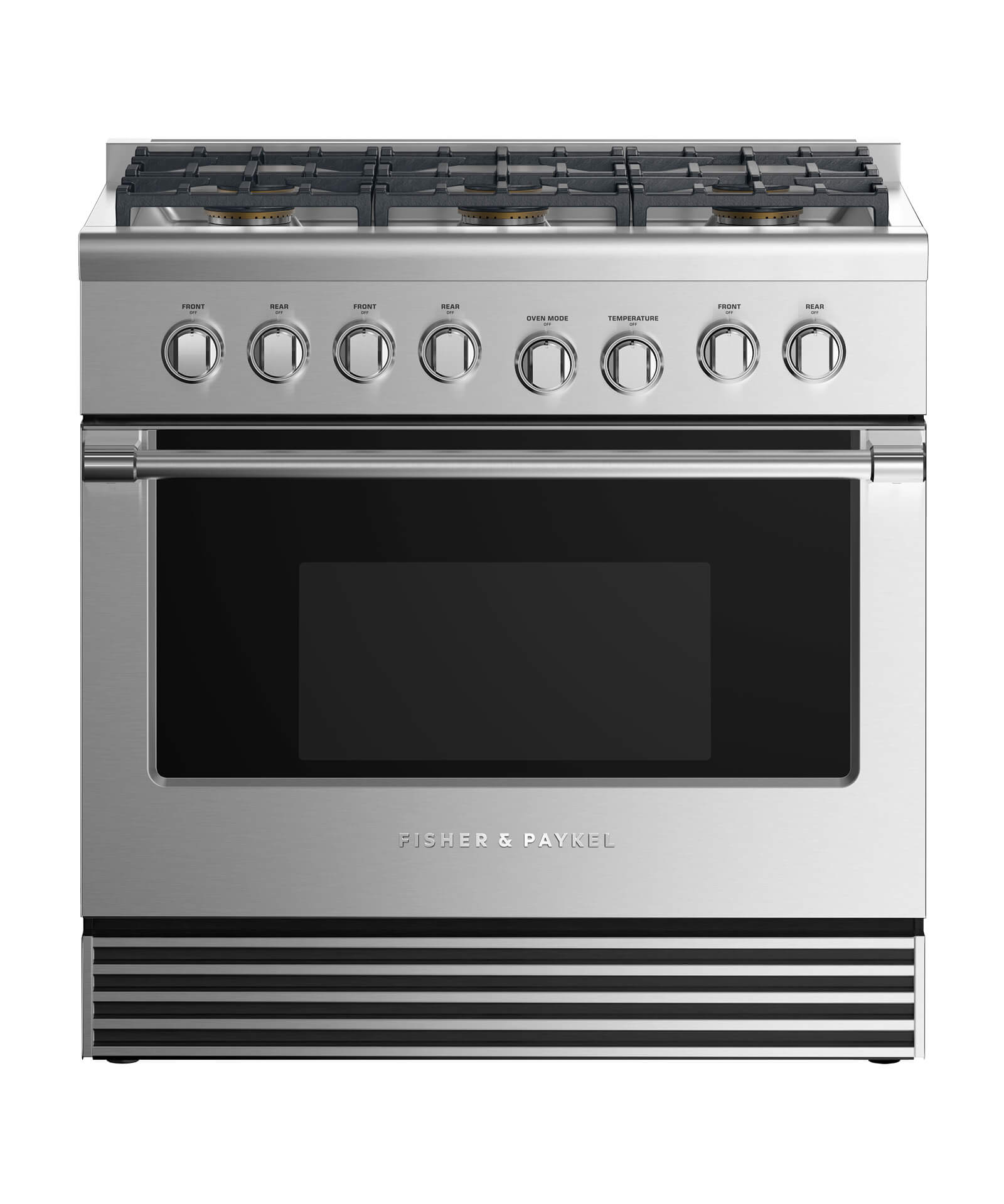 """Fisher and Paykel Dual Fuel Range 36"""", 6 Burners"""