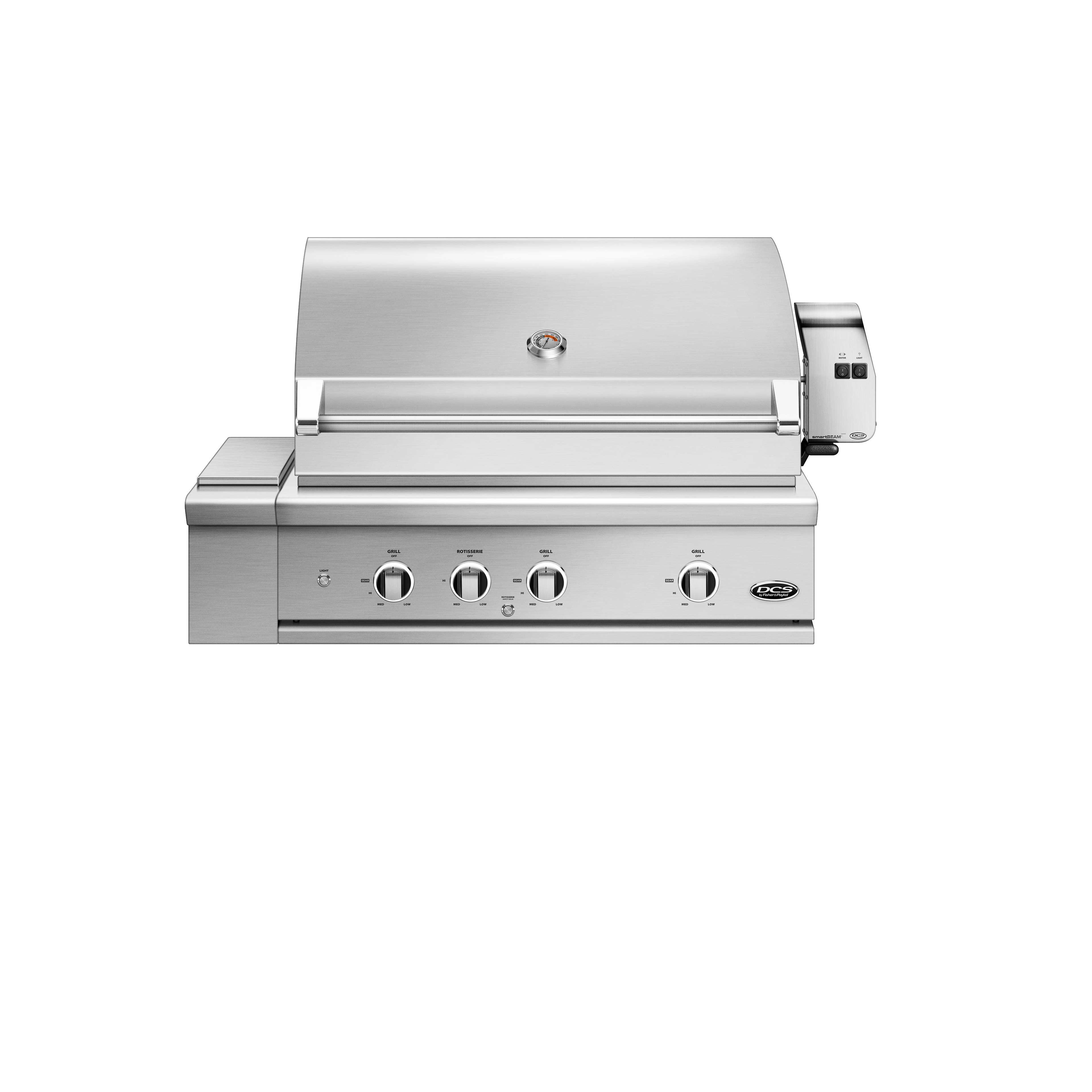 "Model: BE1-36RC-N | DCS 36"" Grill Series 9, Rotisserie and Charcoal"