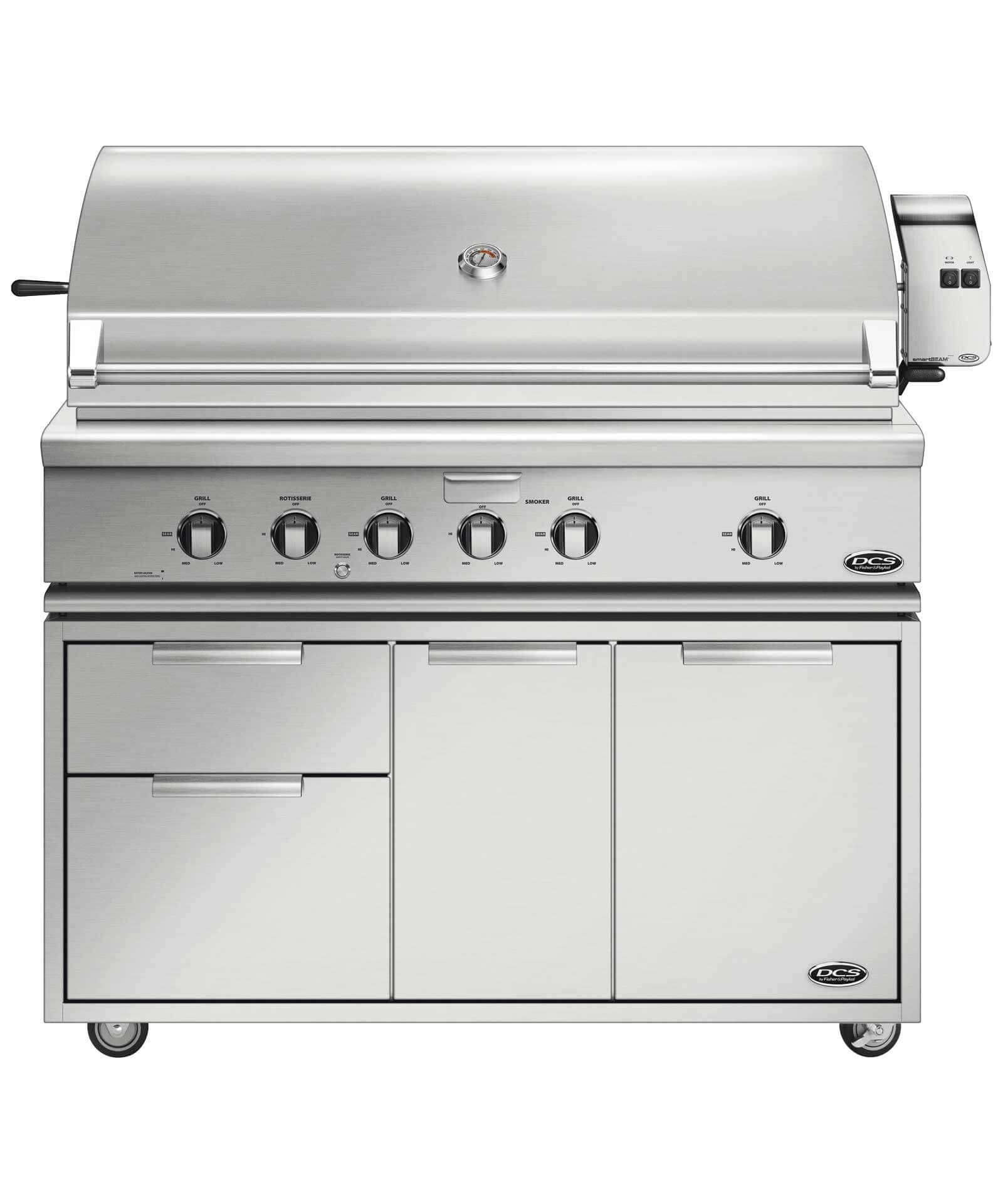 "DCS 48"" Traditional Grill with Rotisserie"