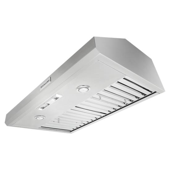 "KitchenAid 36"" 585 CFM Commercial-Style Under-Cabinet Range Hood System"