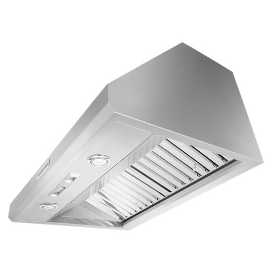"""KitchenAid 36"""" 585-1170 CFM Motor Class Commercial-Style Wall-Mount Canopy Range Hood"""