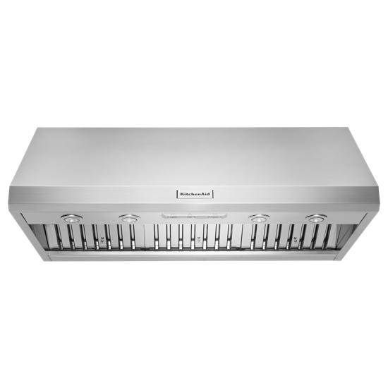 KitchenAid 48'' 585-1170 CFM Motor Class Commercial-Style Wall-Mount Canopy Range Hood