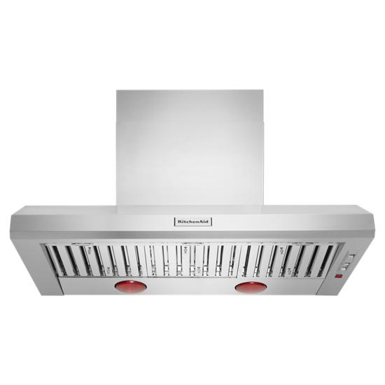 48'' 600–1200 CFM Commercial-Style Wall-Mount Canopy Range Hood