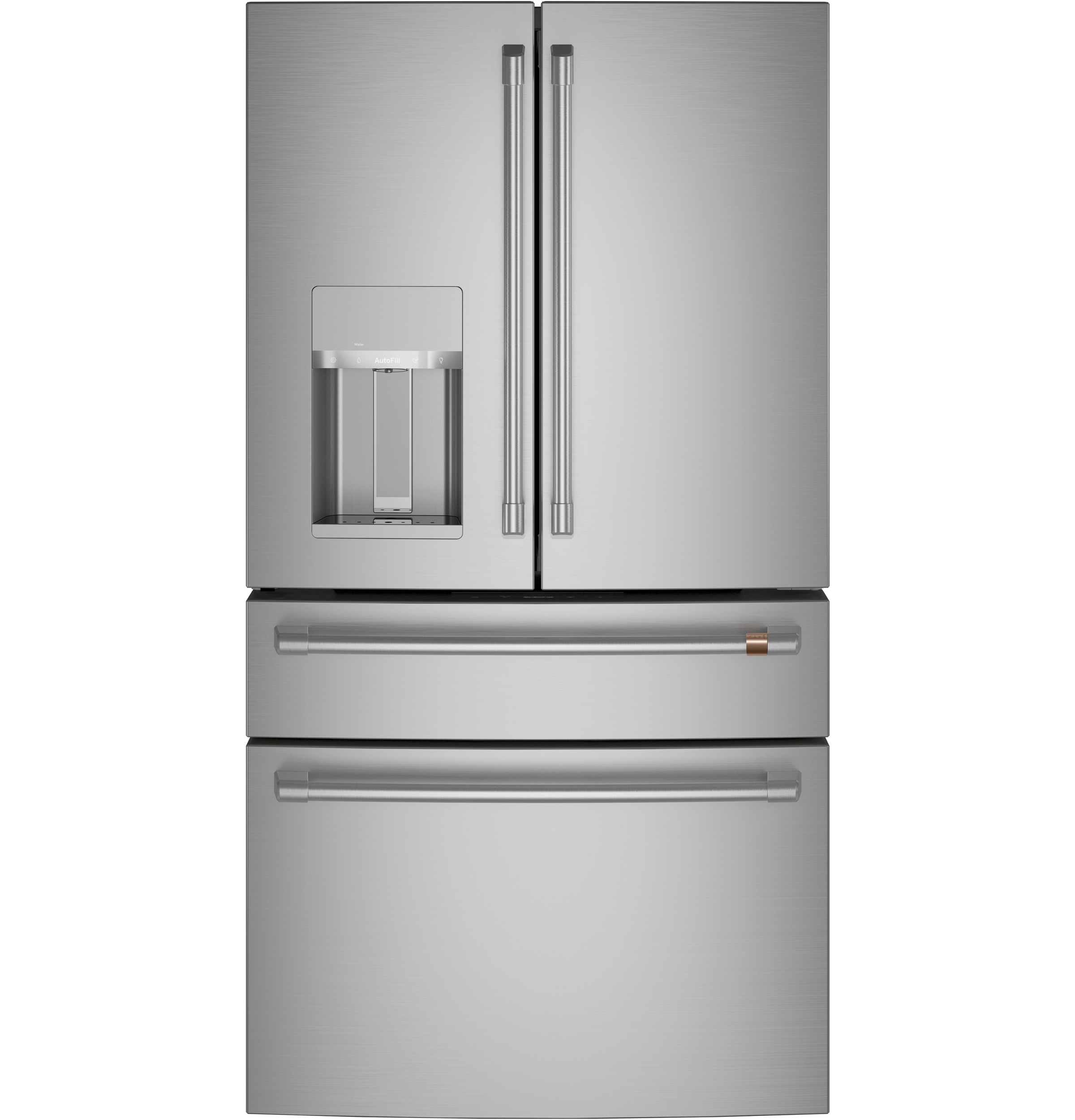 Cafe Café™ ENERGY STAR® 27.8 Cu. Ft. Smart 4-Door French-Door Refrigerator