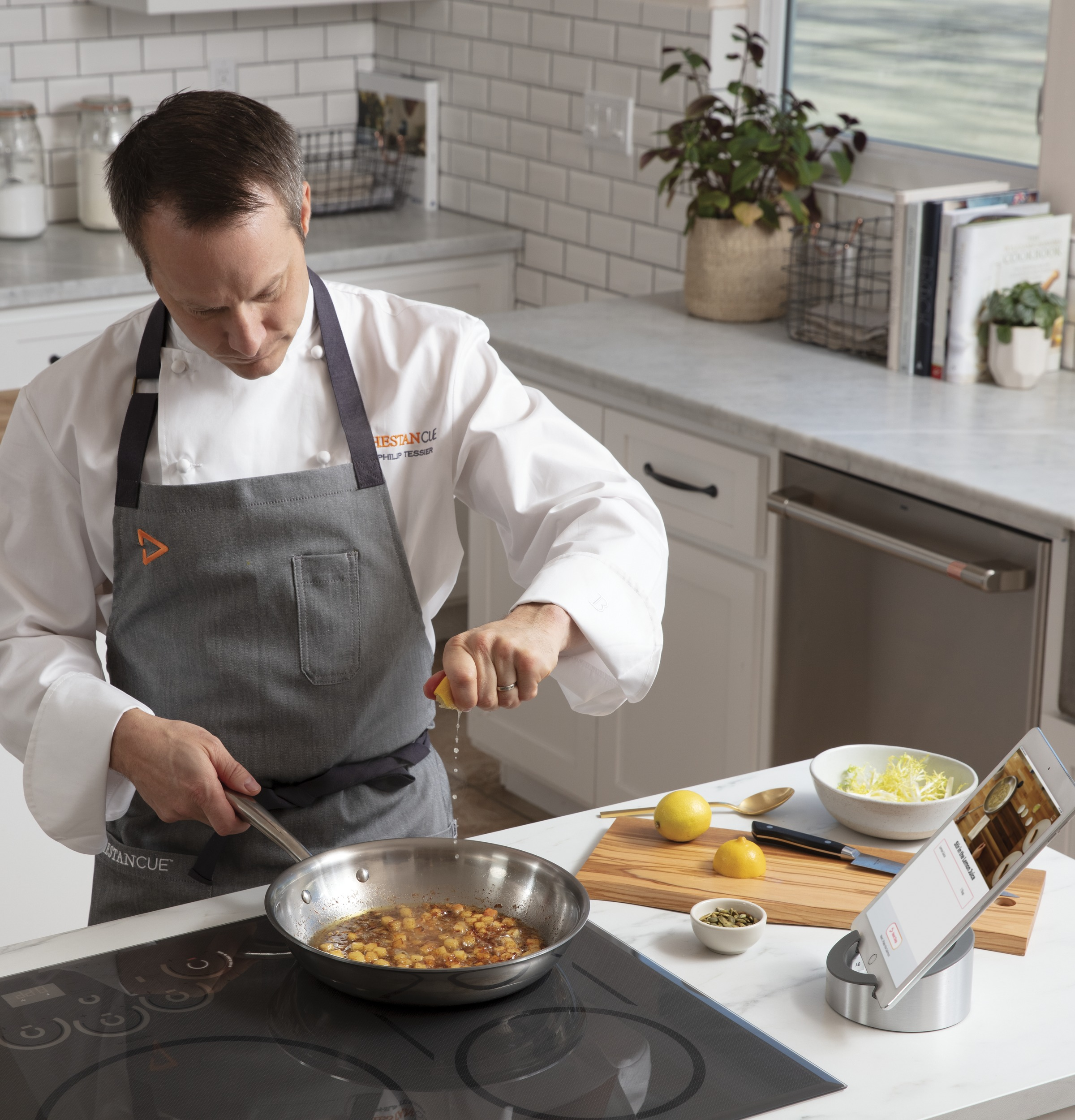 """Model: CHP95302MSS   Cafe Café™ 30"""" Smart Touch-Control Induction Cooktop"""