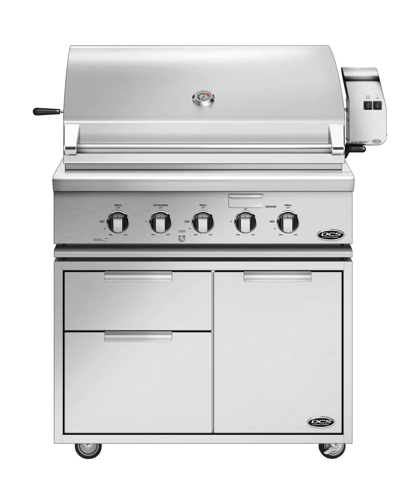 "DCS 36"" Traditional Grill with Rotisserie"