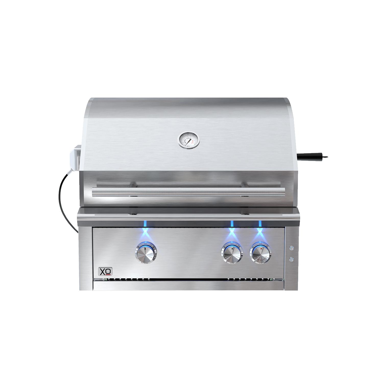 XO Appliances 30 in Grill 2 Burner w/ Rotiss Burner - LP Gas