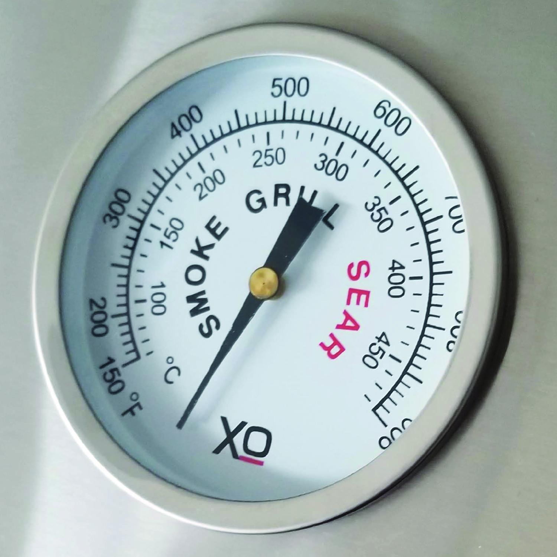 Model: XOGRILL30N | XO Appliances 30 in Grill 2 Burner w/ Rotiss Burner -Natural Gas