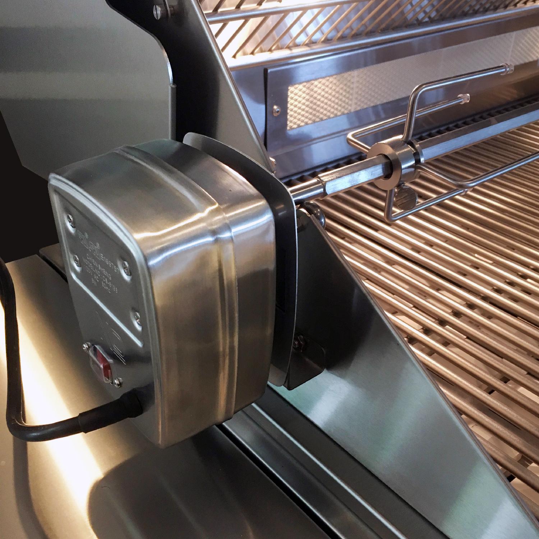 Model: XOGRILL36L | XO Appliances 36 in Grill 3 Burner w/ Rotiss Burner - LP Gas