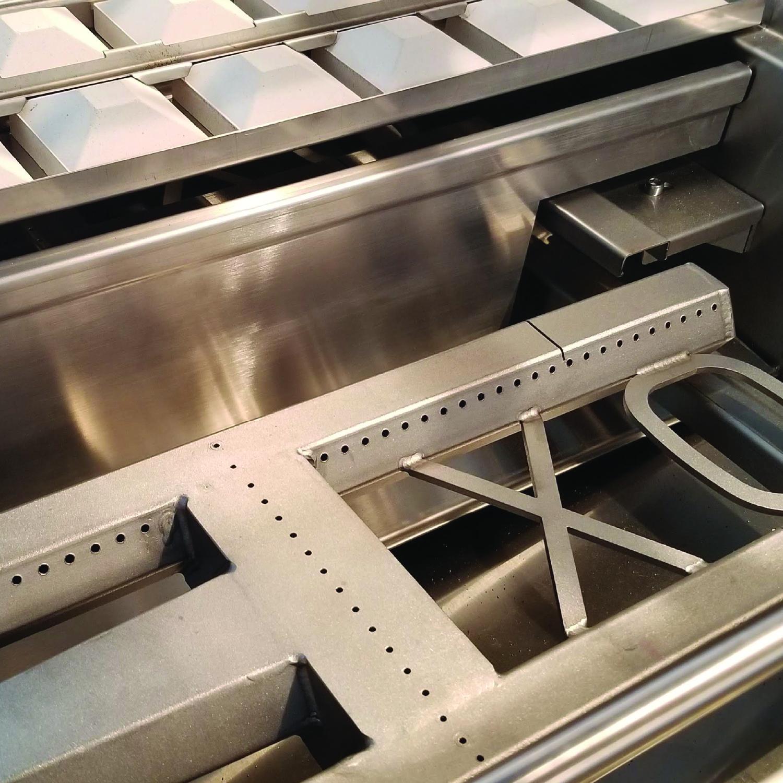 Model: XOGRILL42L | XO Appliances 42 in Grill 4 Burner w/ Rotiss Burner  - LP Gas