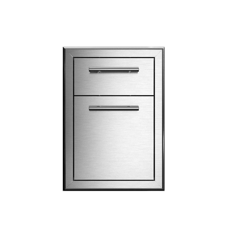 XO Ventilation 16 in Double DrawerStorage