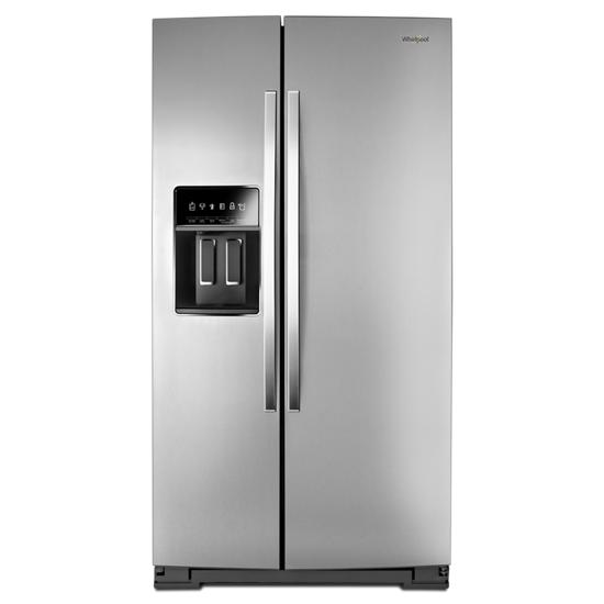 Whirlpool 36-inch Wide Side-by-Side Counter Depth Refrigerator - 20 cu. ft.