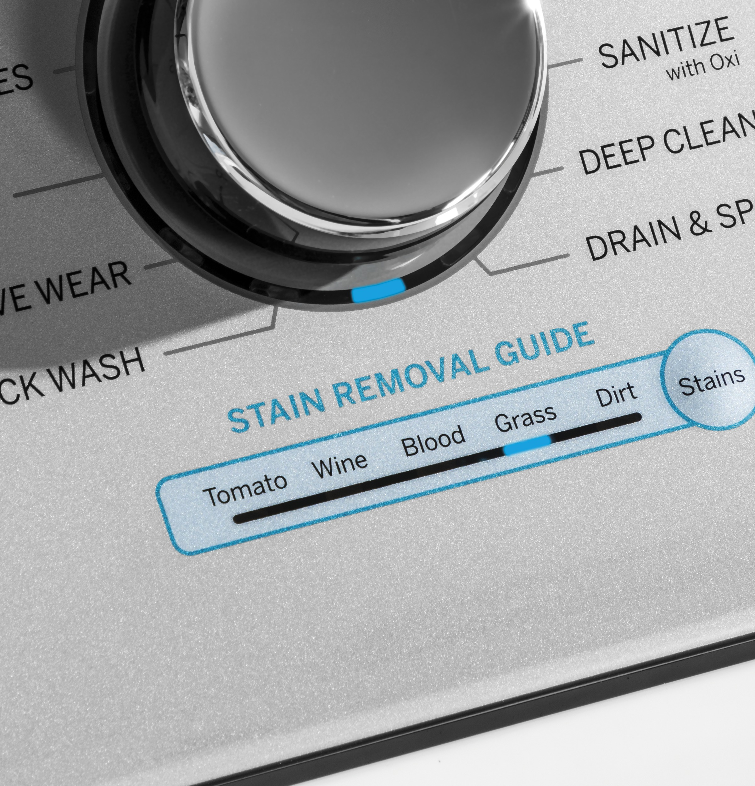 Model: GTW720BSNWS | GE GE® 4.8  cu. ft. Capacity Washer with Sanitize w/Oxi and FlexDispense®