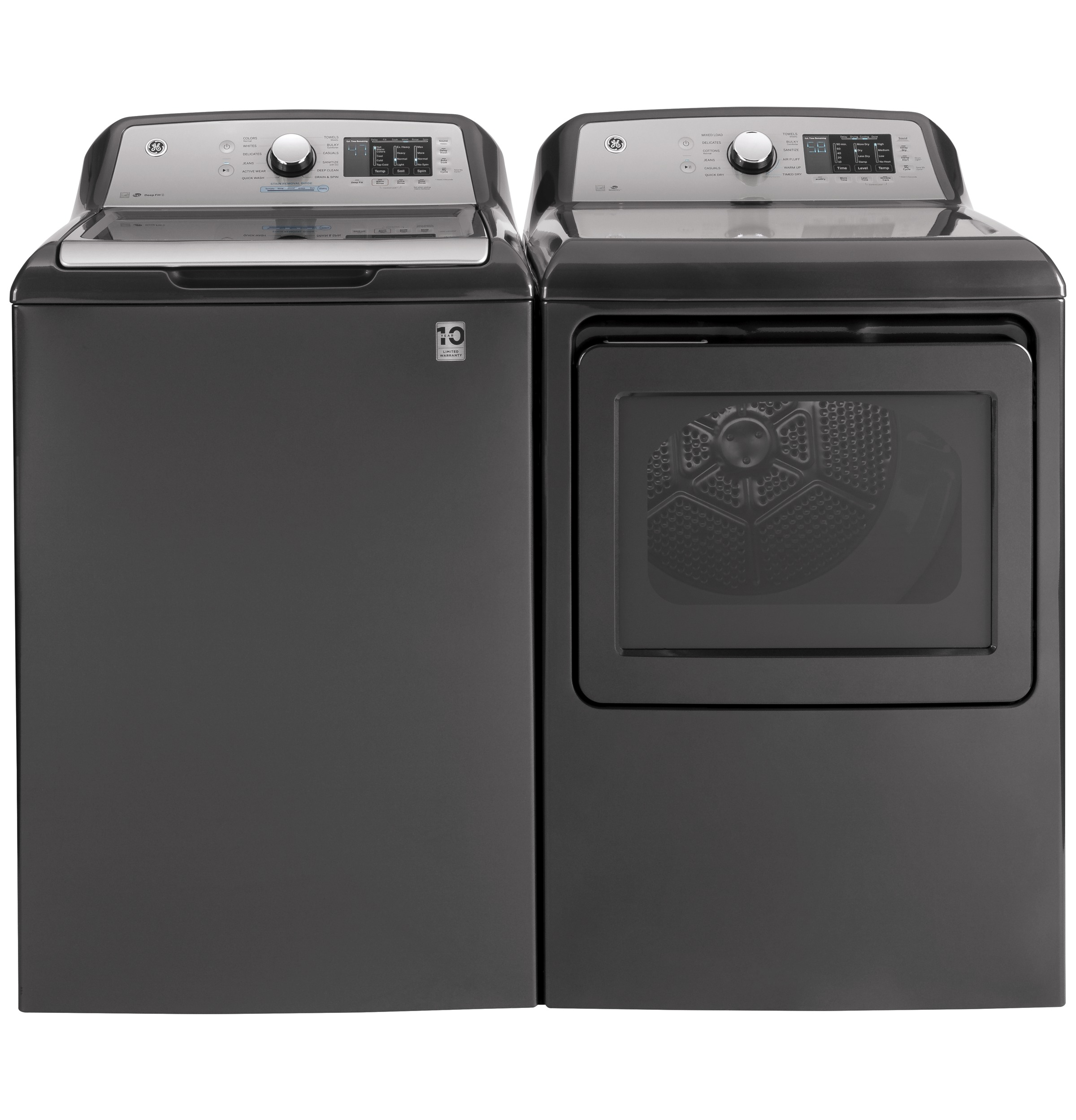 Model: GTW720BPNDG | GE GE® 4.8  cu. ft. Capacity Washer with Tide PODS™ Dispense