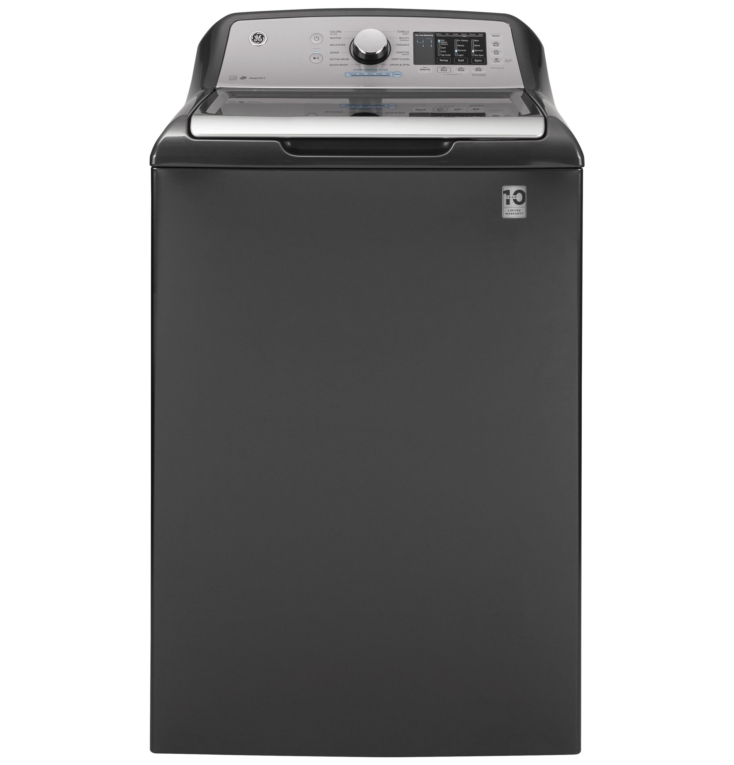 GE GE® 4.6  cu. ft. Capacity Washer with Sanitize w/Oxi and FlexDispense™