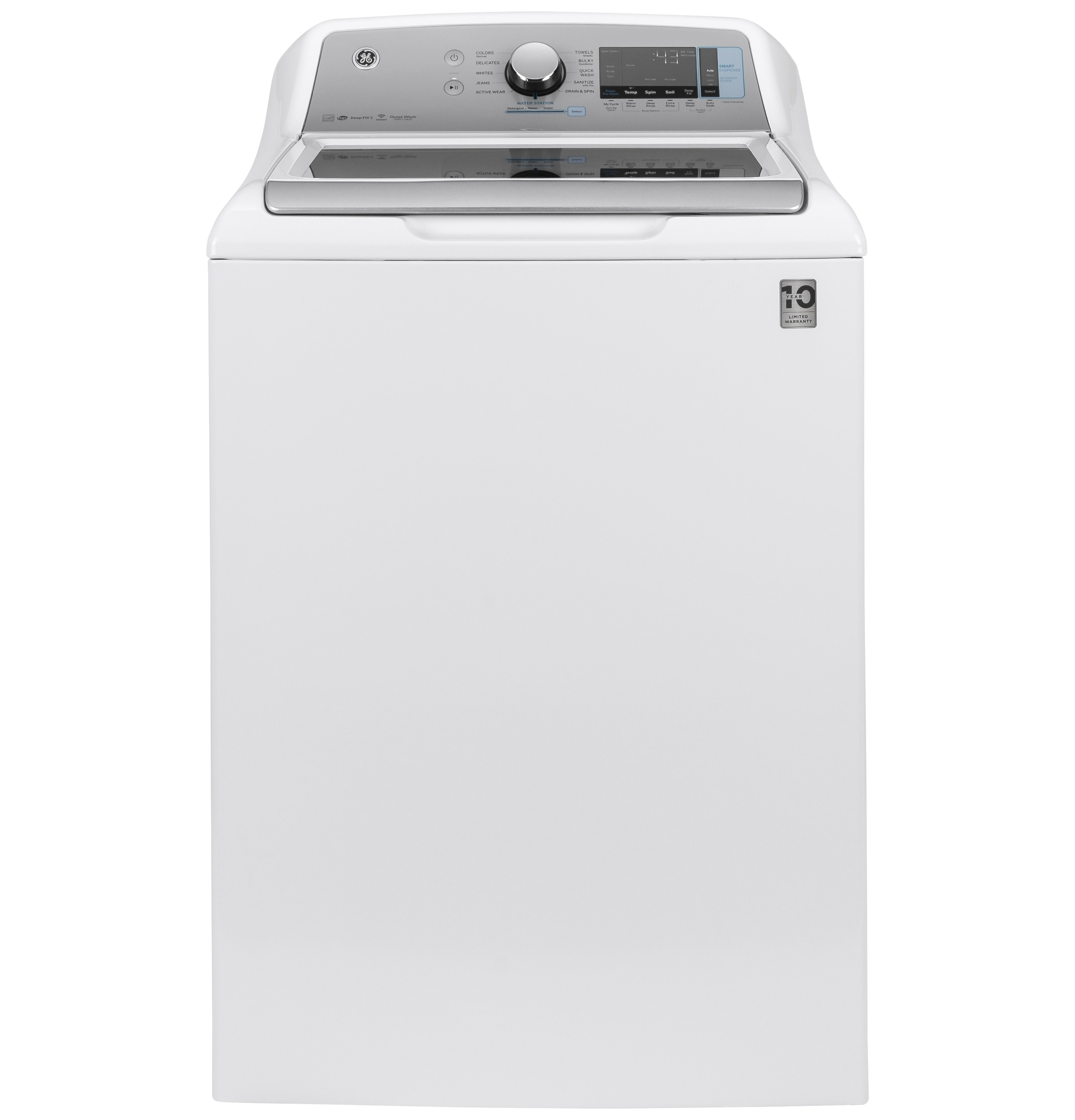 GE GE® 5.2  cu. ft. Capacity Smart Washer with SmartDispense