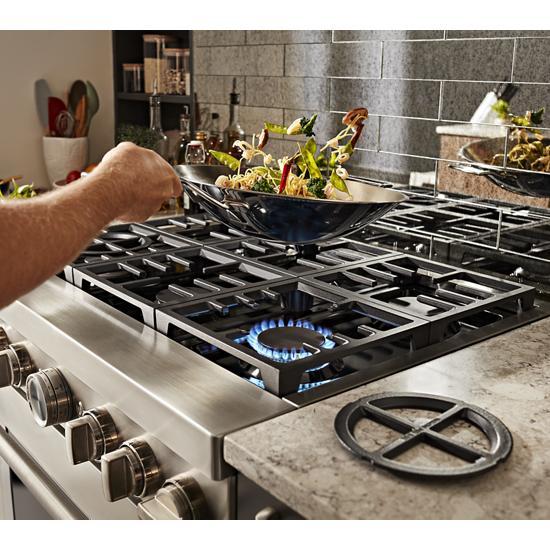 KitchenAid - KFDC558JSS - KitchenAid® 48\'\' Smart Commercial ...
